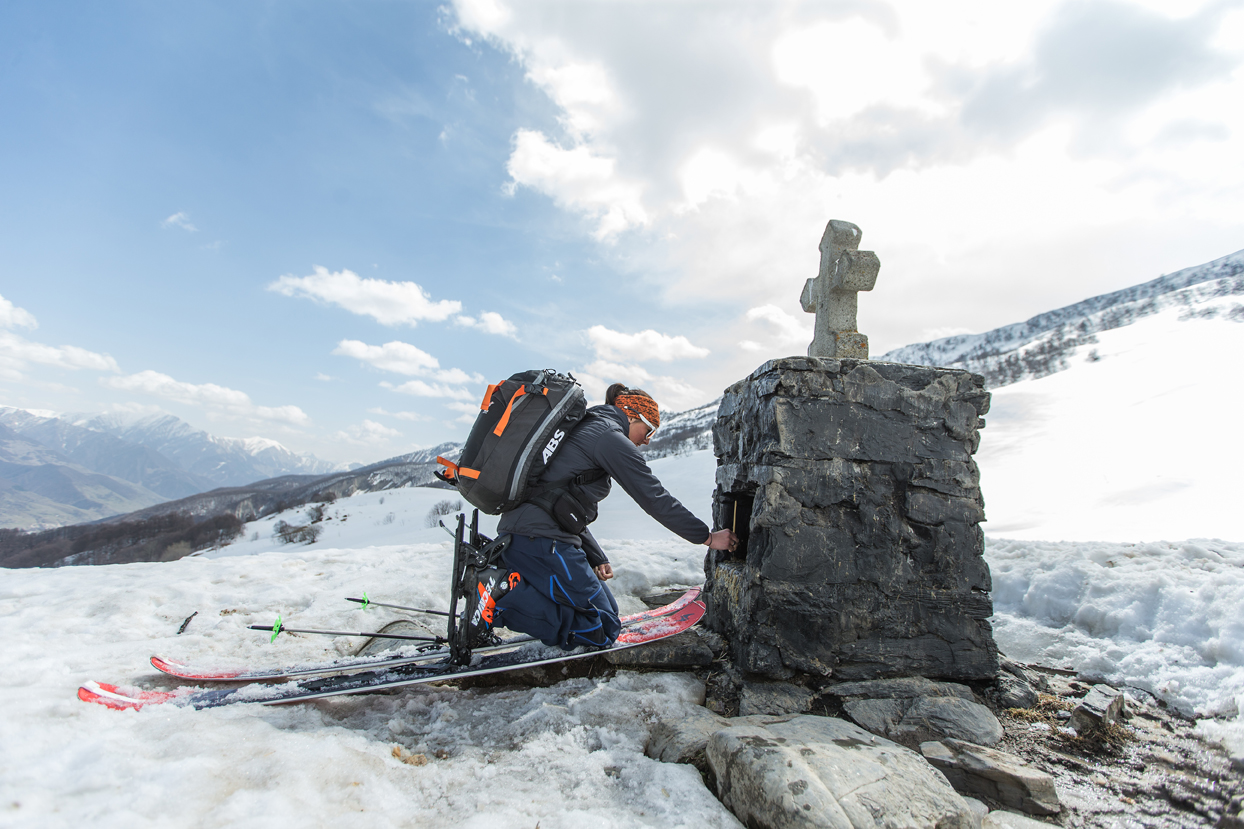 Skitour Georgien Christoph Jorda