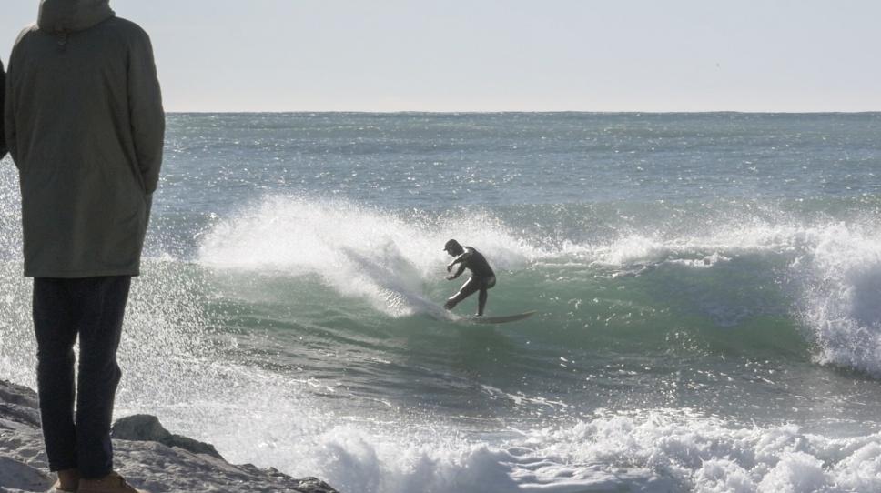Surfing Levanto Carlos Blanchard