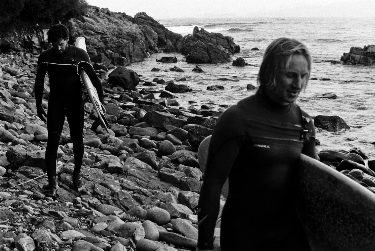 Surfing Corsica Carlos Blanchard