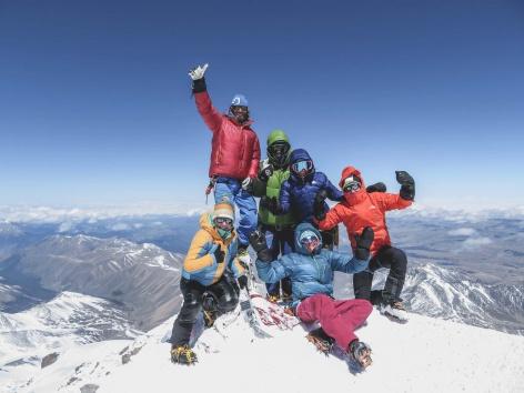 Das Gefühl zuhause zu sein Vreni vom Berg Elbrus 1