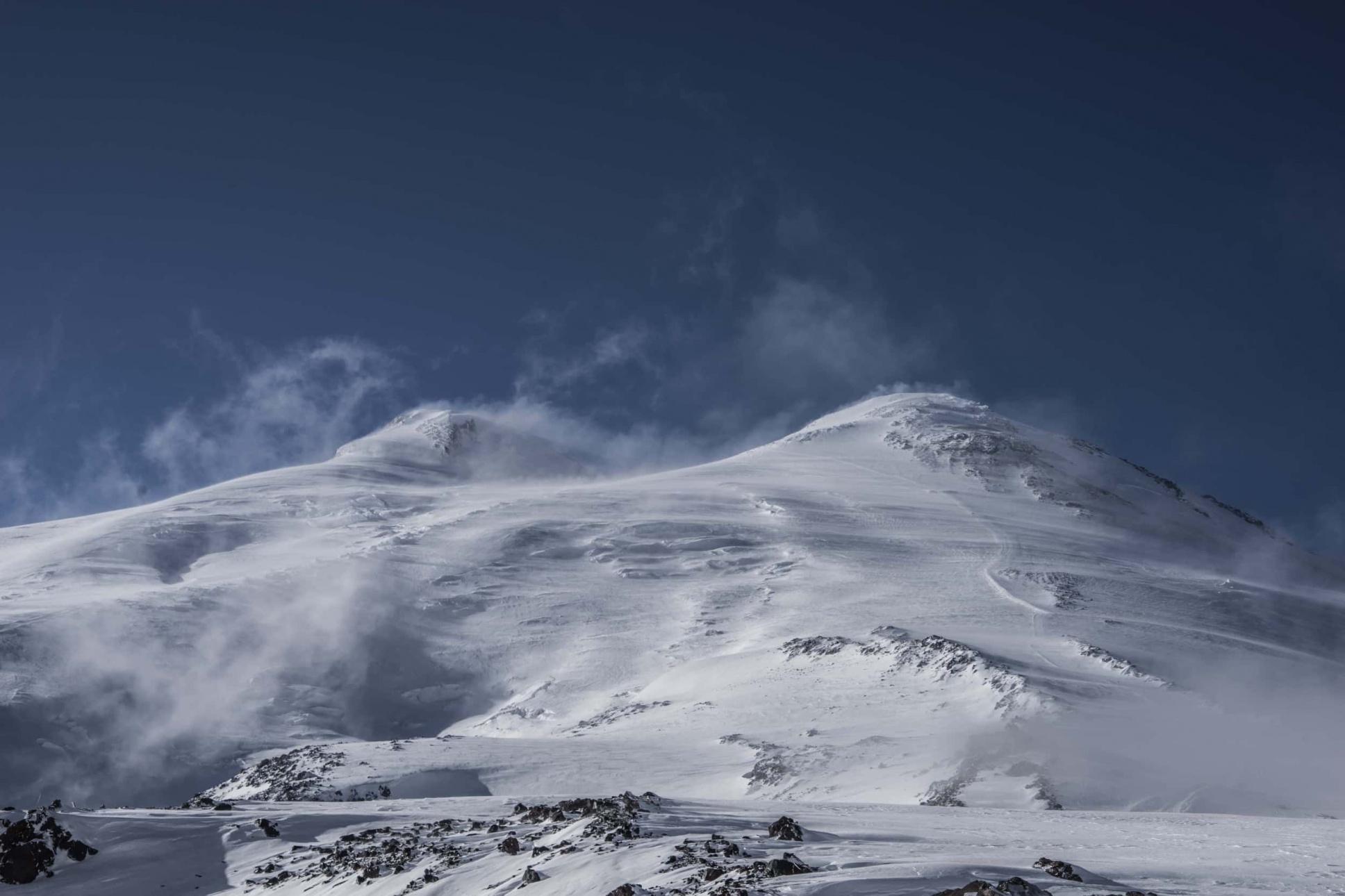 Elbrus und sein schöner Bruder Ushba Vreni vom Berg Elbrus-7
