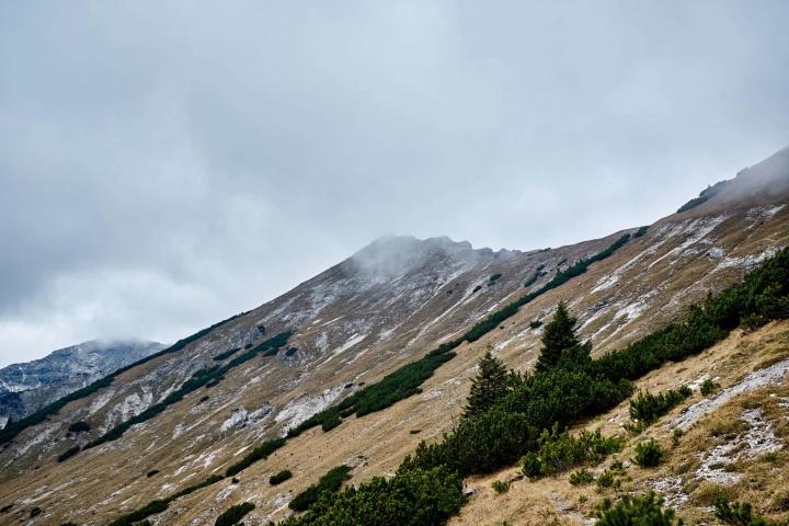 Ammergauer Alpen Berge Wandern Herbst 1