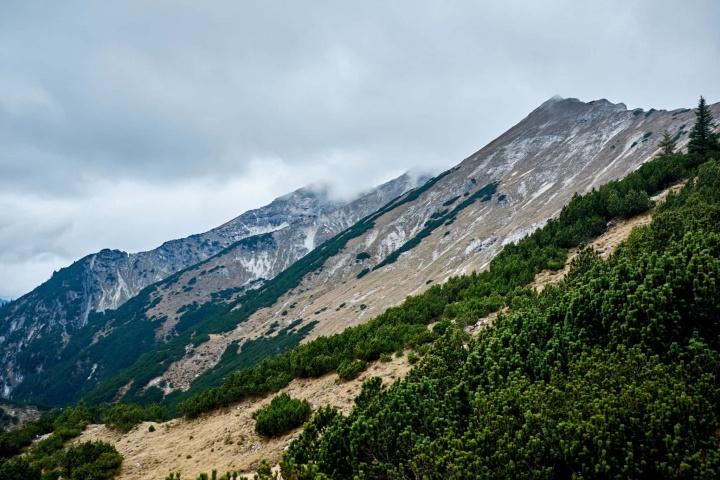 Ammergauer Alpen Berge Wandern Herbst 2