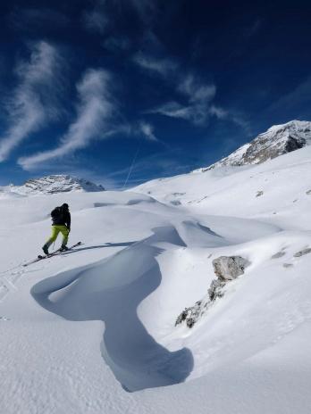 Zugspitze Skitour Aufstieg 5
