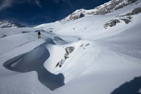 Zugspitze Skitour Aufstieg 6