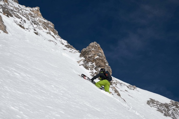 Zugspitze Skitour Aufstieg 7
