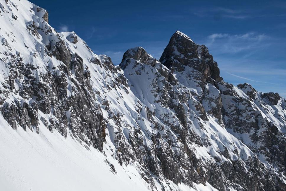 Zugspitze Skitour Panorama 2
