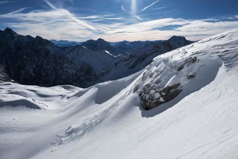 Zugspitze Skitour Panorama 4