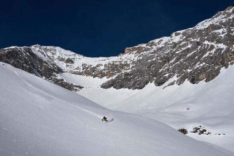 Zugspitze Skitour Skifahren 11