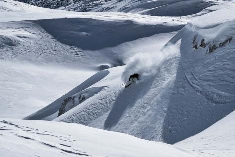 Zugspitze Skitour Skifahren 13