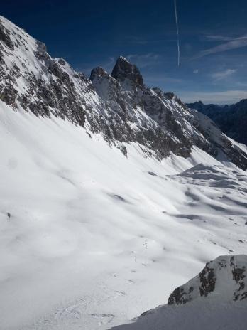 Zugspitze Skitour Skifahren 4