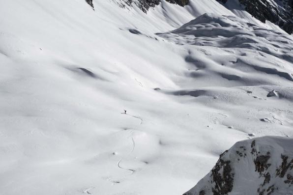 Zugspitze Skitour Skifahren 6