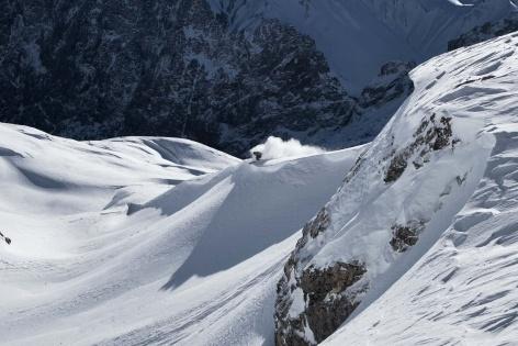 Zugspitze Skitour Skifahren 8