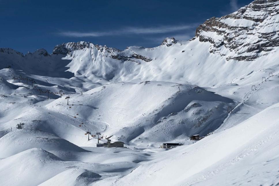 Zugspitze Skitour Skigebiet 2