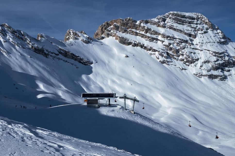 Zugspitze Skitour Skigebiet 3