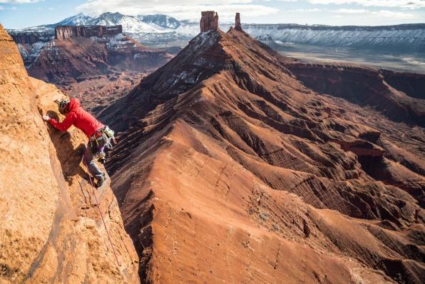 Jenny Abegg Klettern 1