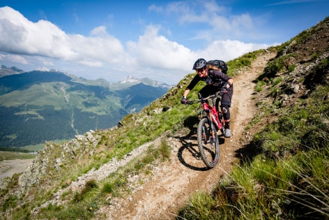 Trail Paradies Davos Outville 40
