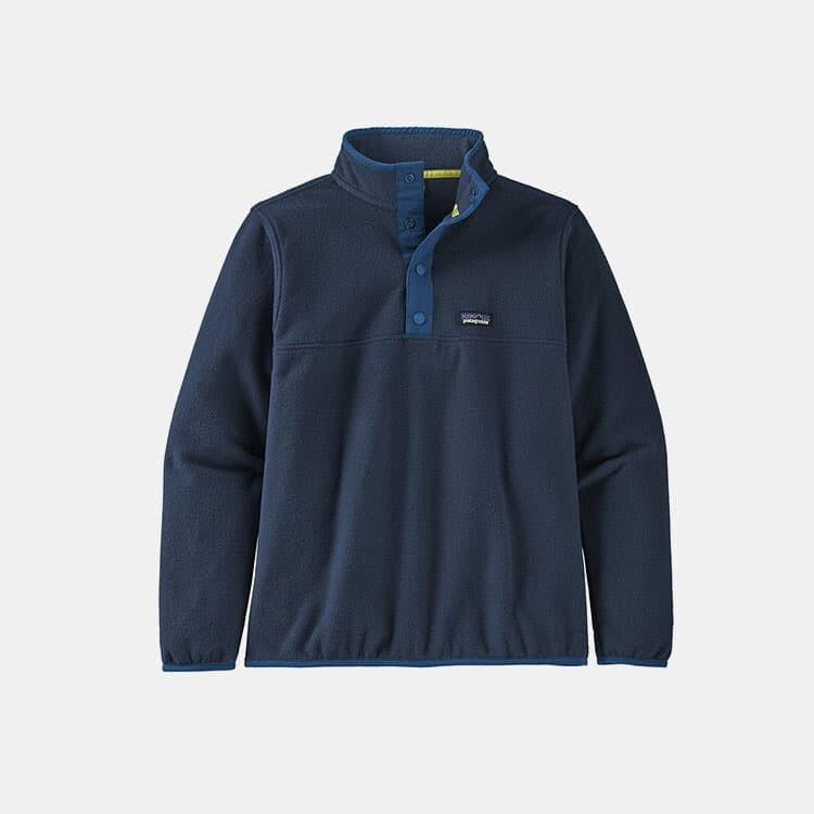 Outville Patagonia-Boys'-Micro-D-Snap-T-Fleece-Pullover